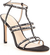 Pelle Moda Essey2 Stone Embellished Caged Dress Sandals