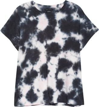 Sanctuary The Perfect Tie Dye Linen T-Shirt
