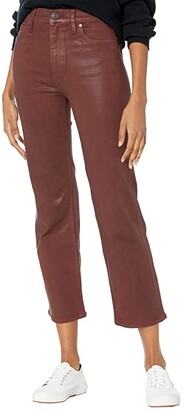 Hudson Remi High-Rise Crop Bootcut in High Shine Brick (High Shine Brick) Women's Jeans