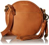 Lucky Brand Jordan Leather Round Crossbody