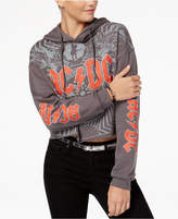 Freeze 24-7 Juniors' Ac/Dc Cropped Hoodie