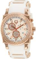 Brillier Men's 01.3.3.4.13.8 Chronograph Method Air Rose-Tone Rubber Watch