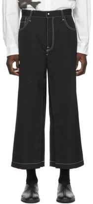 SASQUATCHfabrix. Black Denim Hakama Jeans