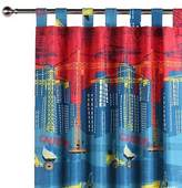 NEW Happy Kids Construction Glow in the Dark Curtain