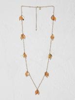 White Stuff Marmalade flower necklace