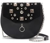Louise et Cie Jael Leather Embellished Crossbody Bag