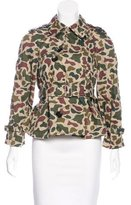 Comme des Garcons Camouflage Print Double-Breasted Jacket