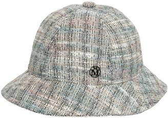 Maison Michel Mara Tweed Bucket Hat
