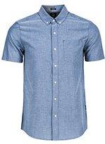 Volcom Men's Everett Oxford Short Sleeve Shirt
