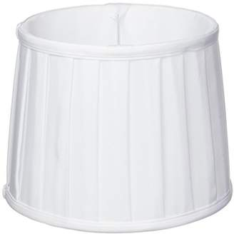 Camilla And Marc By rydens B23 – Venice Cotton Pleated Lampshade Diameter 18 cm – White