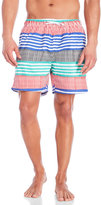 Franks Rhodes Striped Swim Trunks