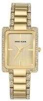 Anne Klein Women's Crystal Bracelet Watch, 28Mm X 35Mm