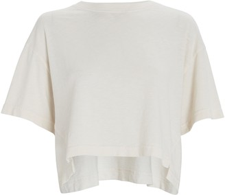 Frame Boxy Cropped T-Shirt