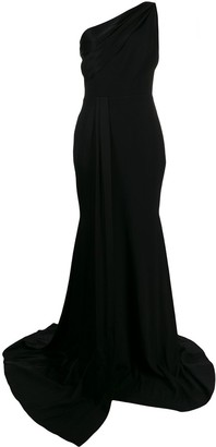 Alex Perry One Shoulder Long Dress