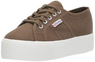 Superga Women's 2790ACOTW Linea UP and Down Sneaker Taupe 39 M EU (8 US)