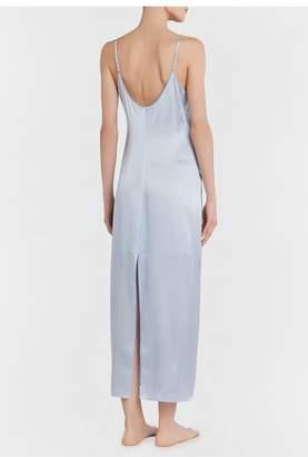 La Perla Silk Azure Silk Long Slip