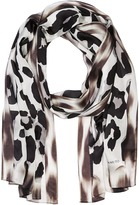 Vince Camuto Blur Cheetah Oblong Scarf Scarves