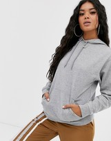 Asos Design DESIGN ultimate hoodie in grey marl