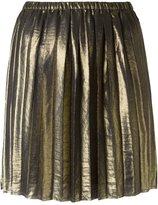 Etoile Isabel Marant 'Manda' metallic skirt - women - Polyester - L