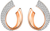 Swarovski Exist Pave Wrap Hoop Earrings