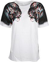 Marcelo Burlon County of Milan Tiger Face Print T-shirt