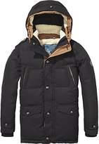 Scotch & Soda Shrunk Boy's Teddy Lined Coat