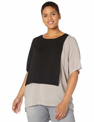 Junarose Women's Plus Size Hyde Short Sleeve Top