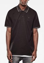 G Star Men's Mondollo Short Sleeve Polo In Premium Stretch Pique