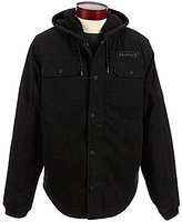Hurley Faux-Sherpa Hooded Full-Zip Jacket