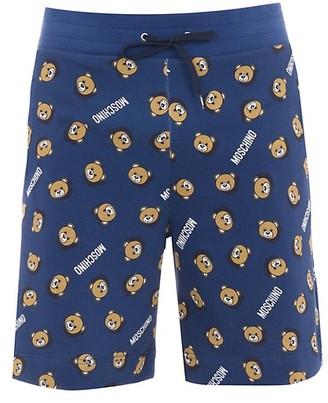 Moschino Home Teddy Printed Shorts