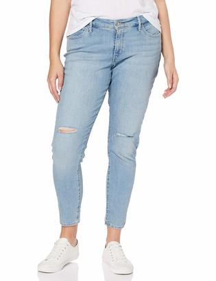 Levi's Plus Size Levi's 310 Pl Shping Spr Skinny Womens Jeans Azul (Poppy Hills Plus) 52 /L32 (Manufacturer Size: 22/M)