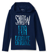 Lands' End Boys Husky Long Sleeve Graphic Hoodie-Merry Moose