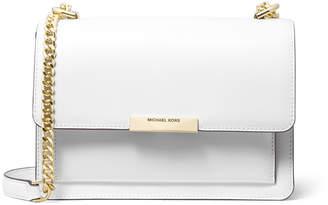 MICHAEL Michael Kors Jade Large Leather Gusset Shoulder Bag