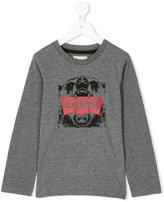 Levi's Kids bear logo print top