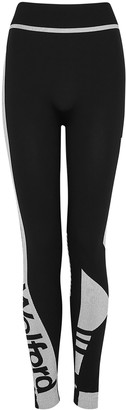 Wolford True Black Logo Jersey Leggings