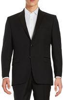 Lauren Ralph Lauren Wool Two-Button Tuxedo Jacket