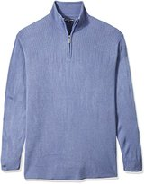 Geoffrey Beene Men's Big-Quarter Zip Sweater