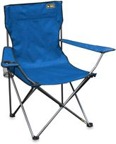Bed Bath & Beyond Quik Chair Bronze Series Folding Arm Camping Chair in Royal Blue