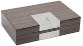 Bey-Berk Monogram Valet Box