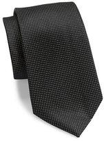 DKNY Tobiko Woven Silk Tie