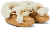 Thumbnail for your product : Bonpoint Baby shearling boots