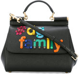 Dolce & Gabbana #DG family patch Sicily tote - women - Calf Leather/Brass - One Size