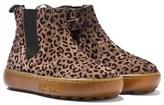 Pom D'Api Pom Dapi Beige Leopard Zip Fastening Chelsea Boots