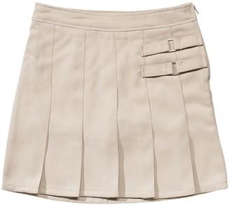 French Toast Girls 4-20 & Plus Size School Uniform 2-Buckle Solid Skort