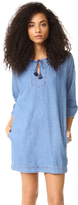 Madewell Denim Tassel Dress