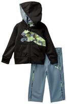 Puma Tech Fleece Zip Hoodie & Pant Set (Baby Boys)