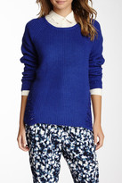 Olive + Oak Olive & Oak Shredded Side Sweater