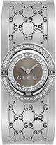 Gucci Women's YA112504 Twirl 112 Series Diamond Bangle Watch