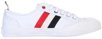 Thom Browne Stripe-Detailed Low-Top Sneakers