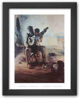 """Art.com Banjo Lesson"""" Framed Art Print By Henry Ossawa"""